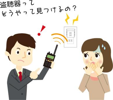 盗聴器を見つける方法